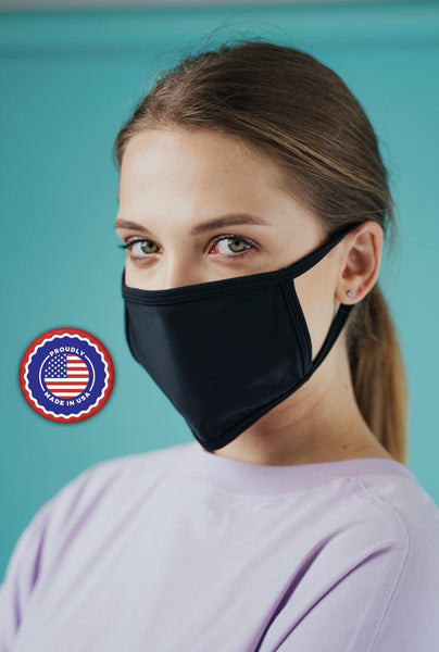 Solid Color Reusable Face Masks