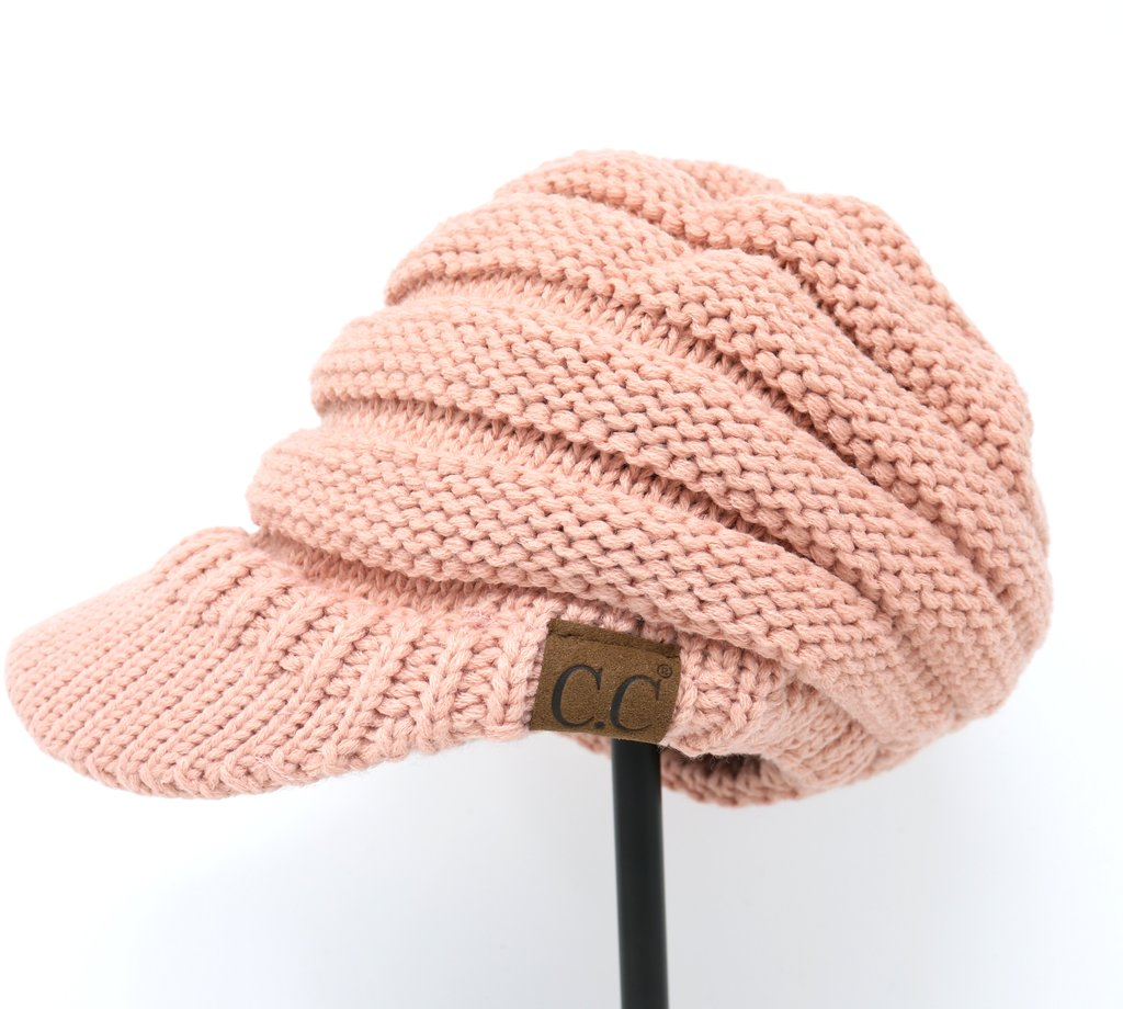 CC Billed Knit Cap Beanie (Adult/One Size)