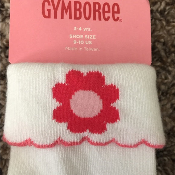Pre-Loved Girls Accessories New Bundle of Gymboree Socks, 3-4 years
