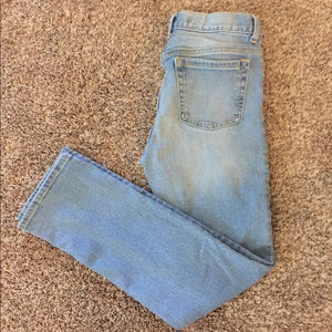 Pre-Loved Boys Like New Old Navy Distressed Skinny Jeans 14
