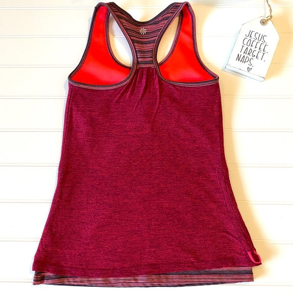 Pre-Loved Athleta ruched tank, XS