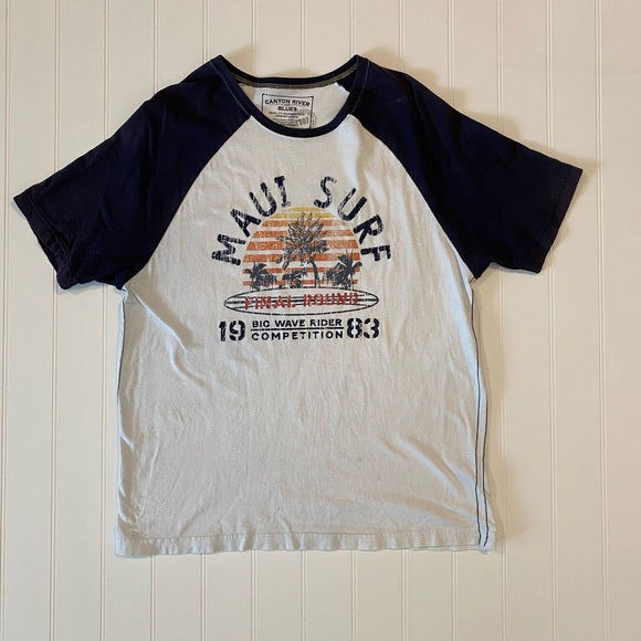 Pre-Loved Canyon River Blues Graphic Print Tee XL