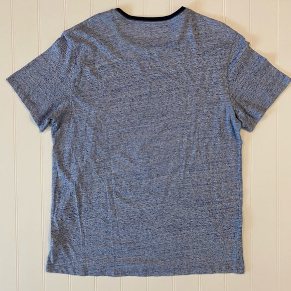 Pre-Loved Like New Mens Blue Marled Old Navy Tee XL