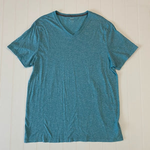Pre-Loved Like New Mens Old Navy Marled V-Neck Tee XL