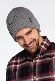 CC Unisex Solid Ribbed Cuff Beanie Men or Women (Adult/One Size)