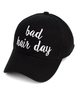 C.C. Bad Hair Day Ball Cap  (Adult/One Size)