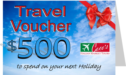 Travel Voucher $250