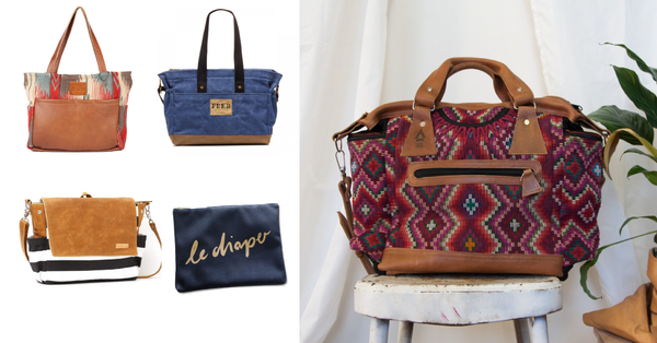 5 Fashionable, Ethical, Eco-Friendly  Diaper Bags