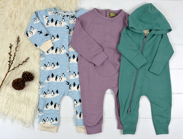 Organic Baby Rompers for Winter