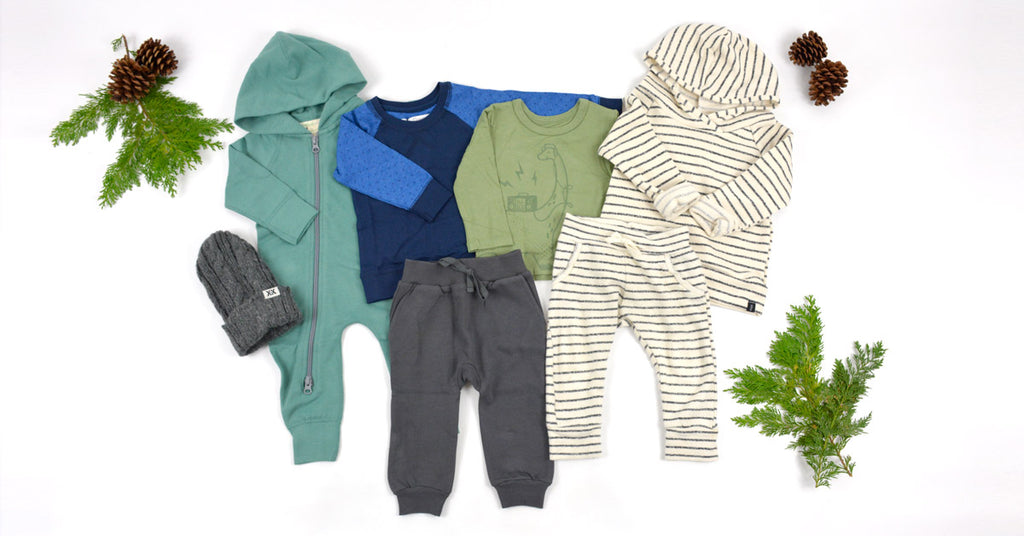 Fresh Little Love Boys Winter Box Organic Baby Clothes
