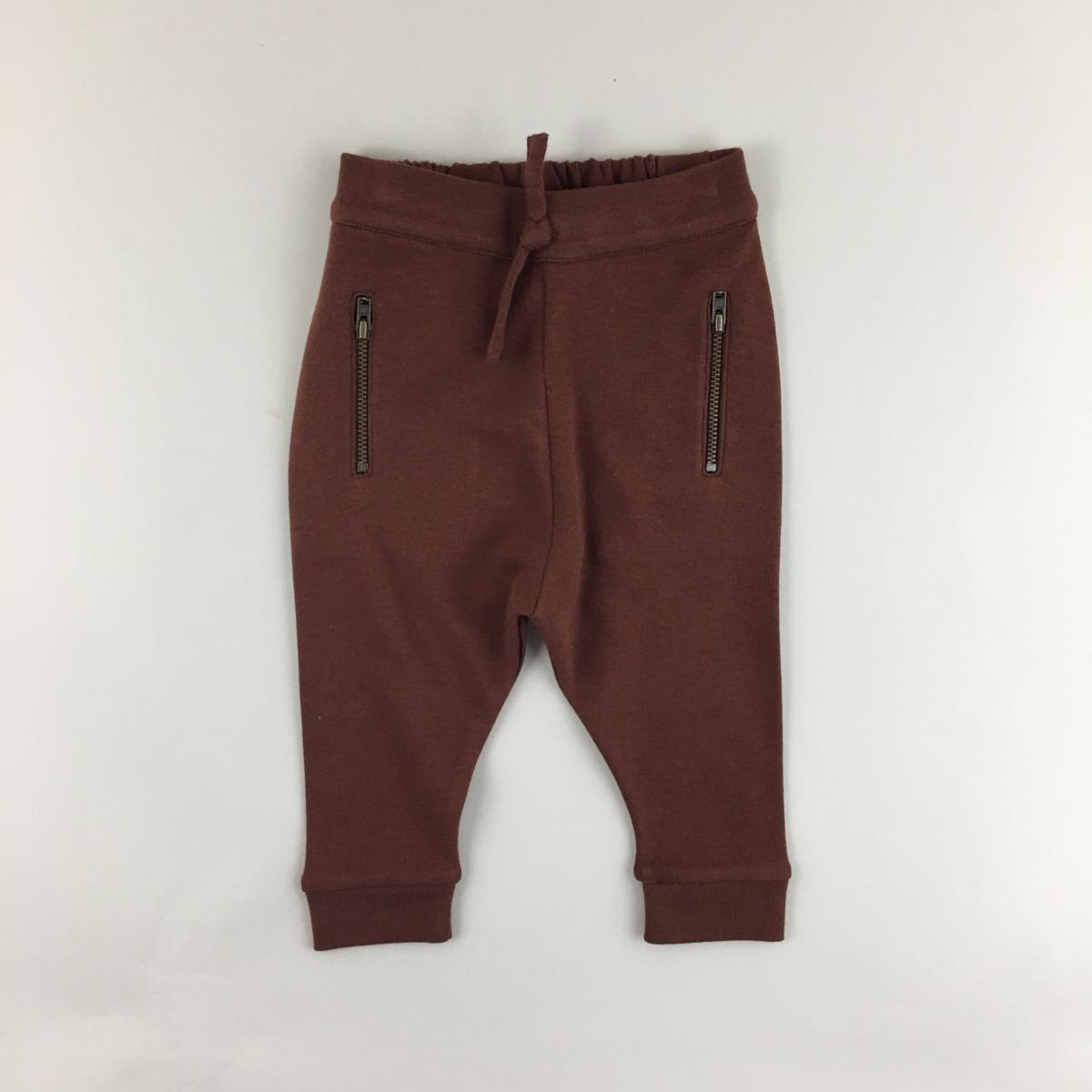 Zipper Pocket Pants