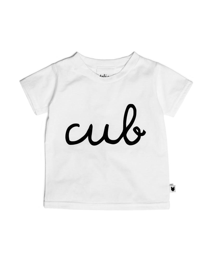 Tobias & The Bear Cub Tshirt for toddlers