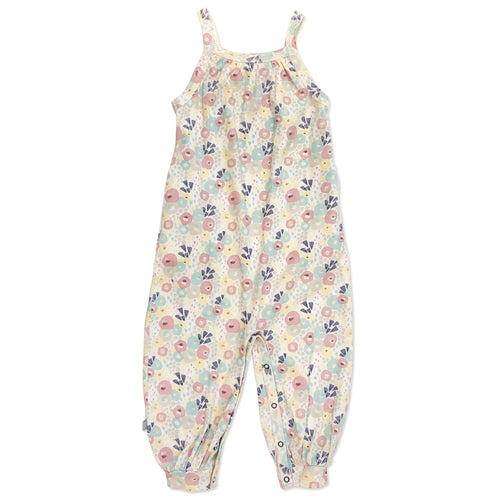 Finn and Emma Organic Cotton Floral Jumpsuit
