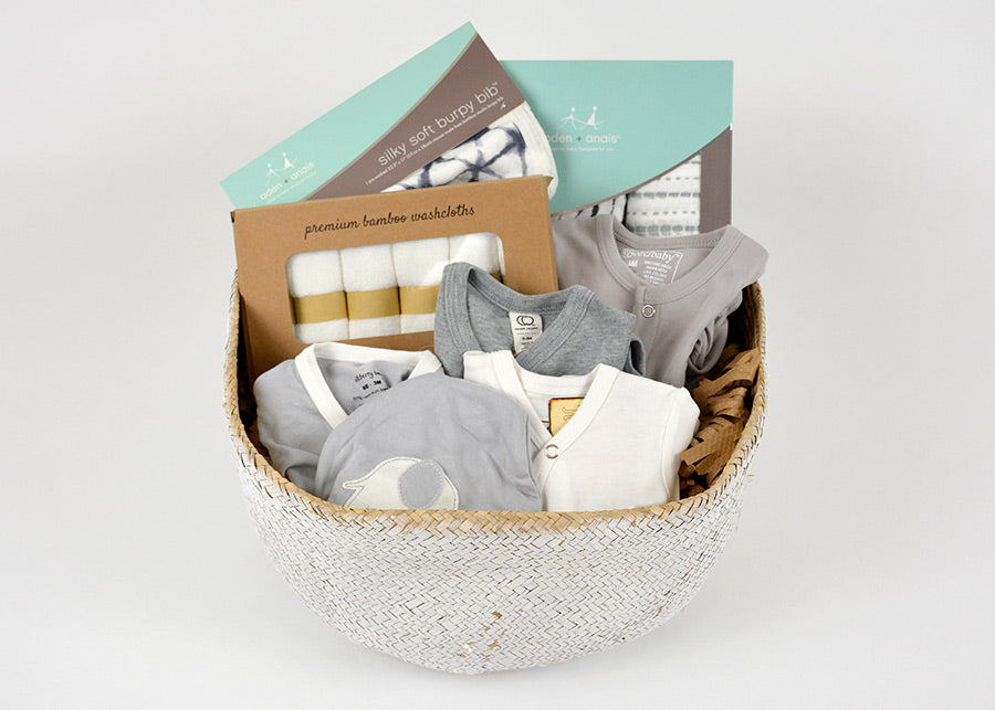 Gray & White Newborn Bundle