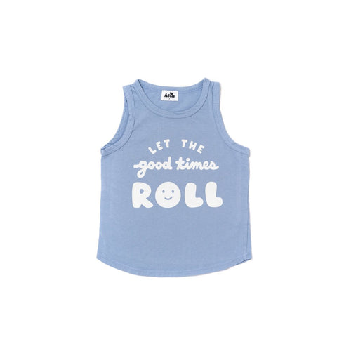 Kira Kids Let the Good Times Roll Organic Cotton Tank Top for baby and toddler