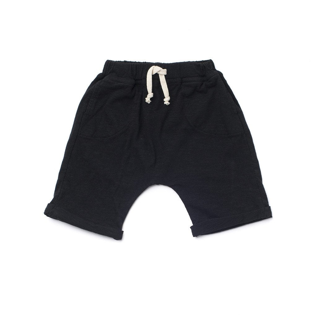 Kira Kids Organic Cotton Jogger Shorts for Baby Boy