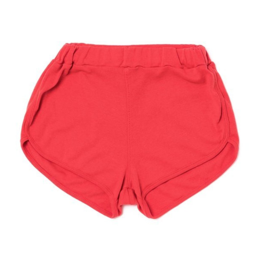 Coral Track Shorts
