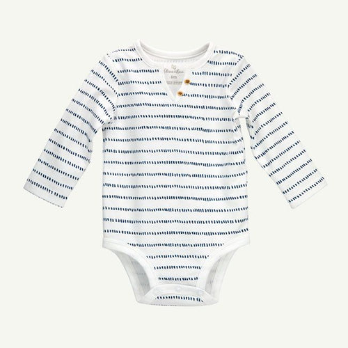 Dash Stripe Henley Bodysuit