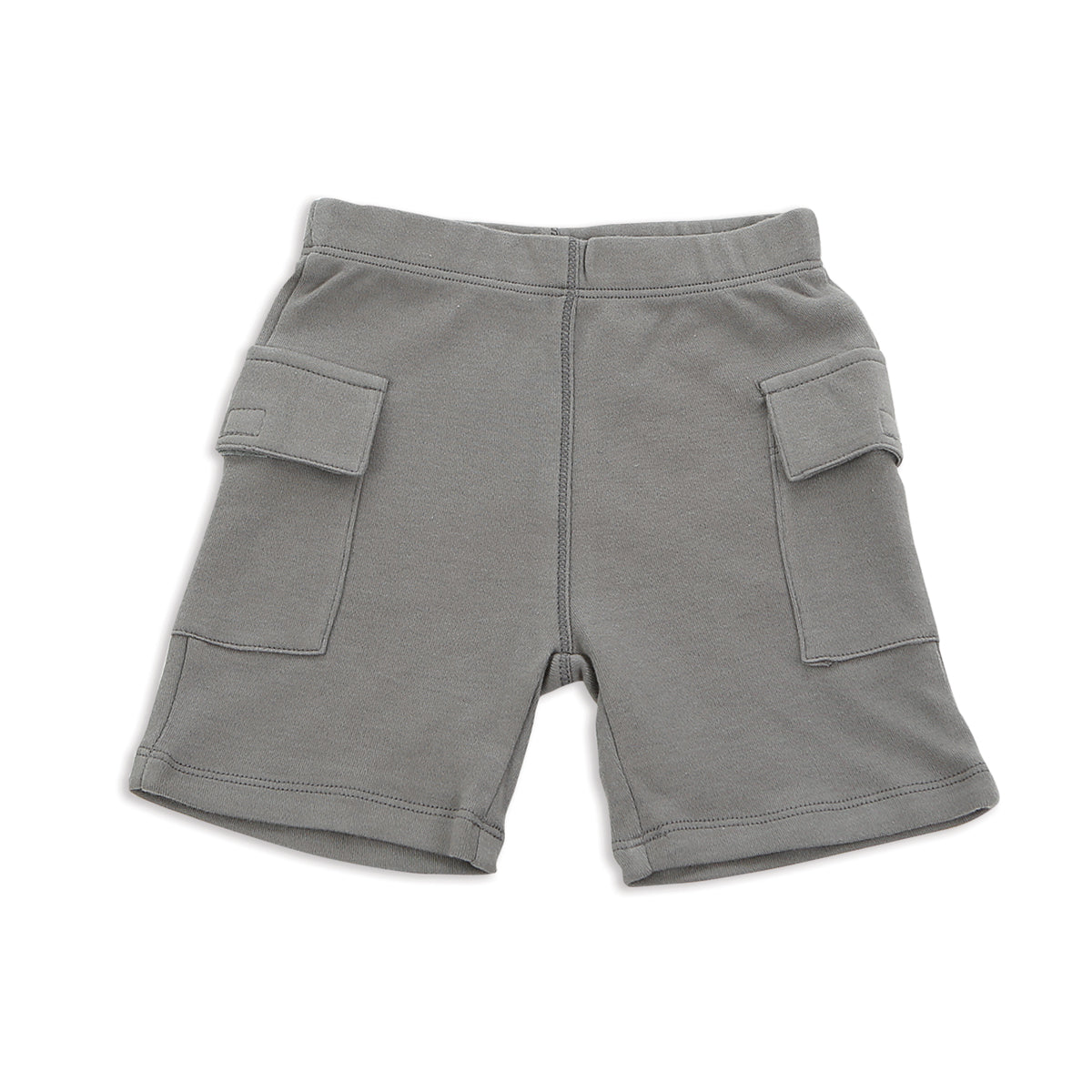 Silkberry Baby Organic Cargo Shorts for baby boy