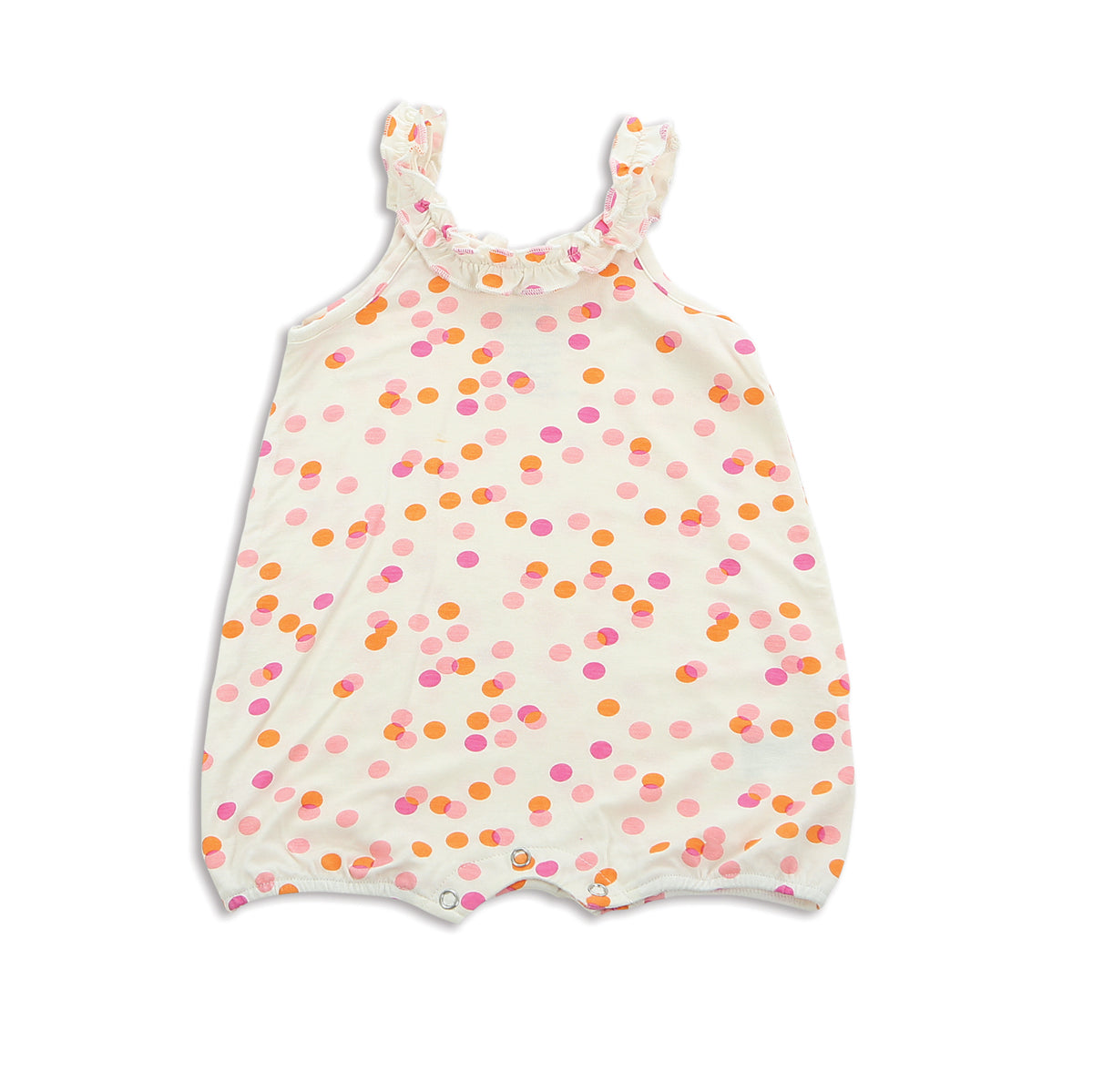 Silkberry Baby Confetti Sprinkle Baby romper