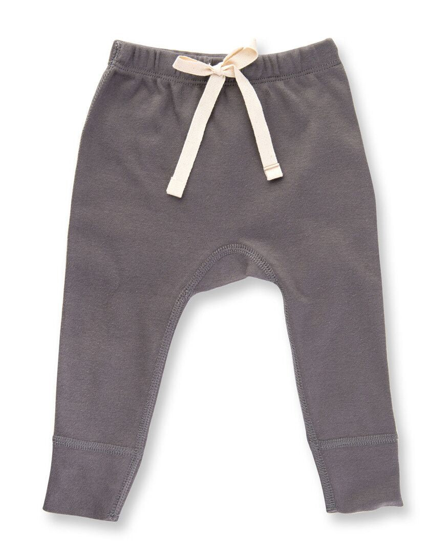 Gray Drawstring Pants