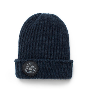 Navy Knit Hat