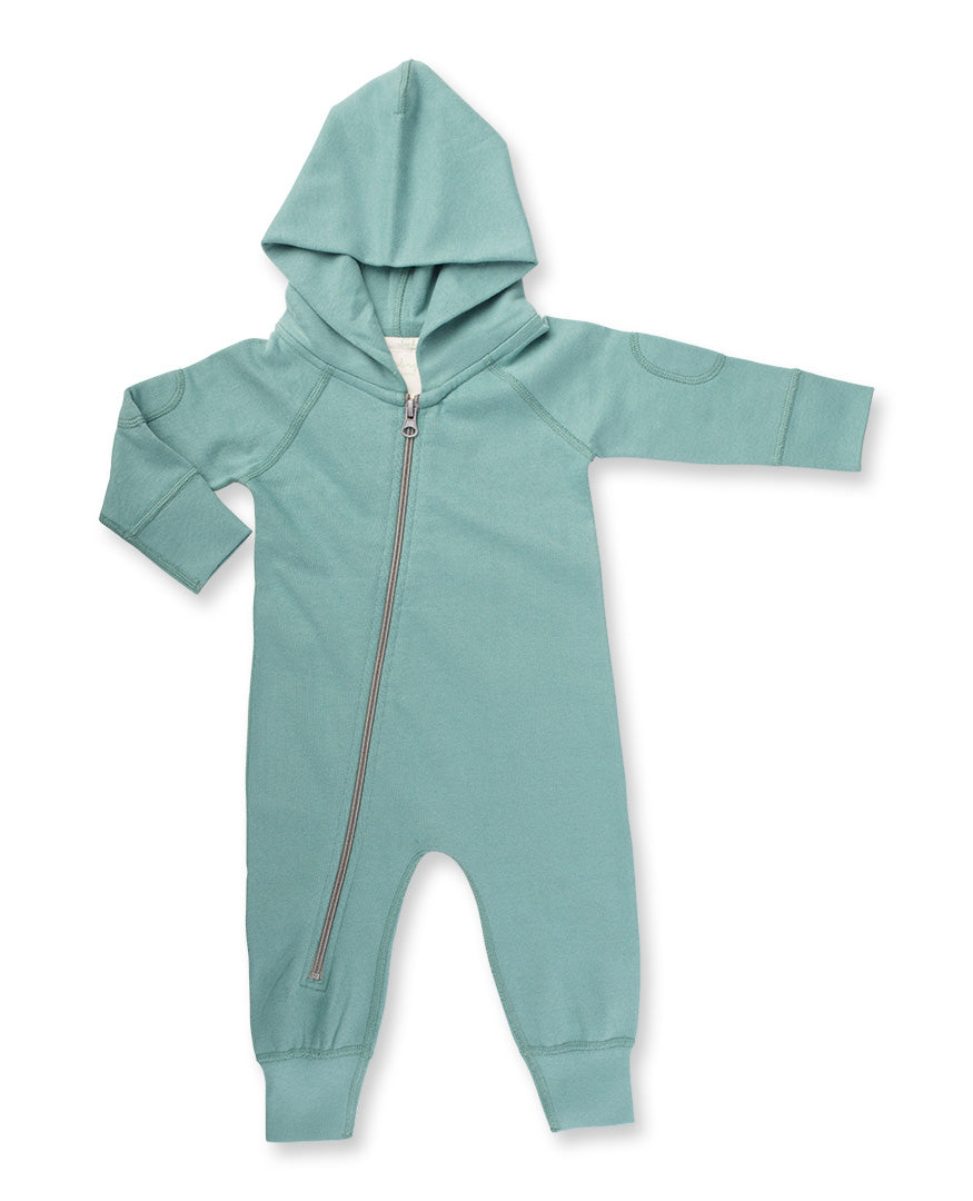 Sapling Organic Organic Cotton Hooded Zipsuit