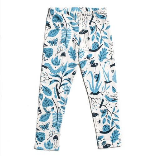 Blue Bug Leggings