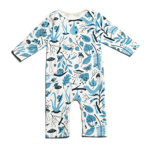 Blue Bug Romper