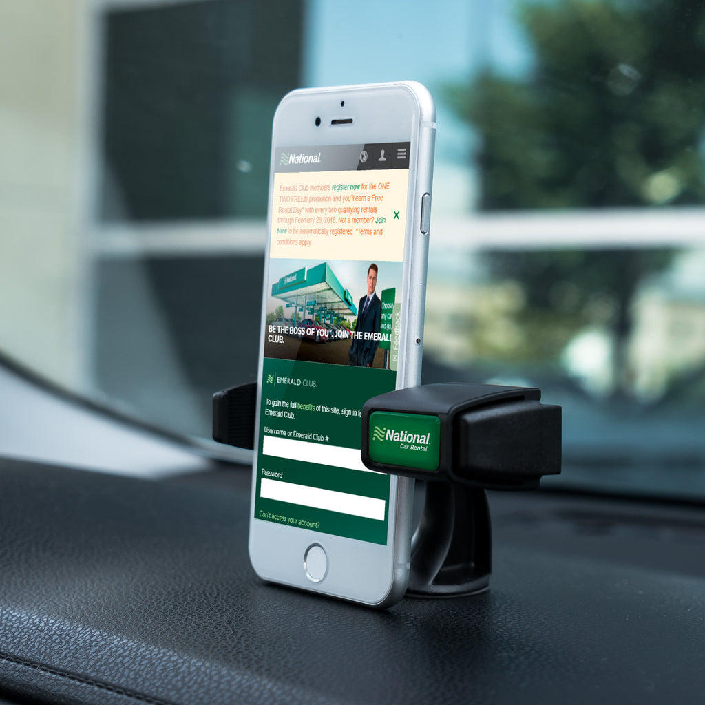 Clip it Dashtop Tm Phone Car Mount