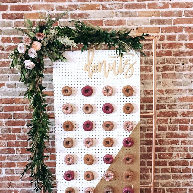 Donuts cutout for donut wall - various sizes available