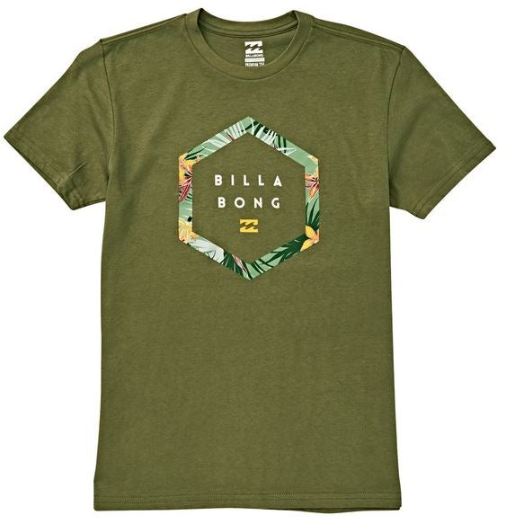 Billabong - ACCESS TEE (OLIVE) - YOUTH SIZES