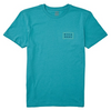 Billabong - BOY'S DIE CUT SHORT SLEEVE T-SHIRT (DARK MINT) - Sizes S-L