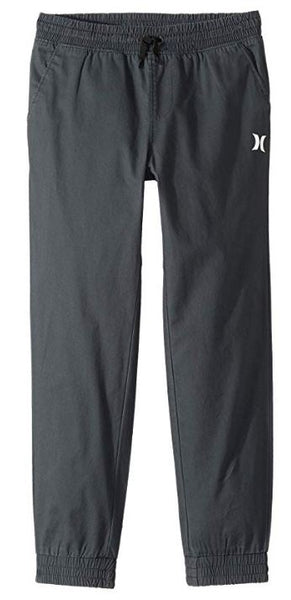 Hurley - SALT WATER WASHED TAPERED JOGGER (BLACK) Sizes 4-7