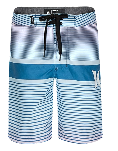 Hurley - PULLOVER BOARDSHORT (RIFT BLUE) Size 2T-4T & SIZE 6