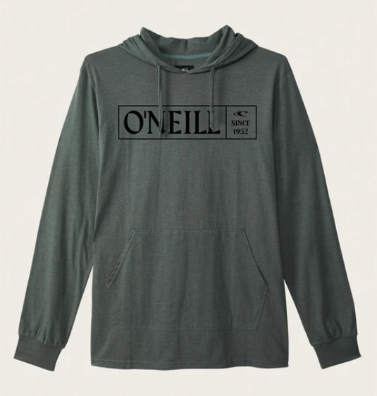 O'Neill - FIELDS PULLOVER (WASHED IVY HEATHERED) - Youth sizes M-L