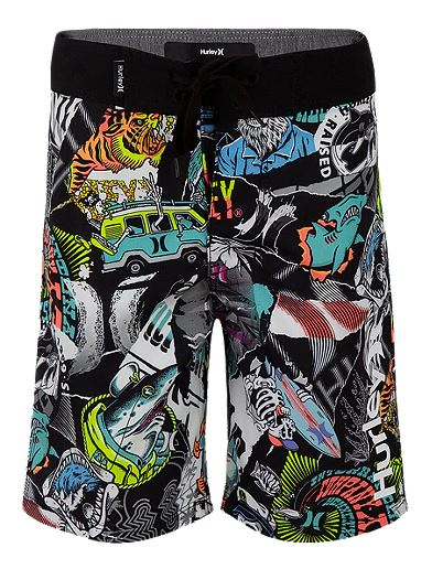 Hurley - STICKER BOARDSHORT (SIZE 4-7)