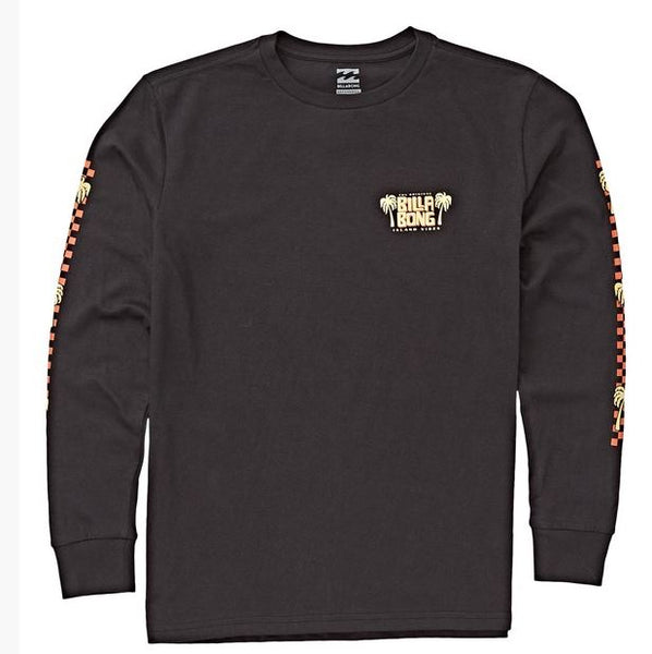 Billabong - CALYPSO LONG SLEEVE TEE (BLACK) - YOUTH SIZES