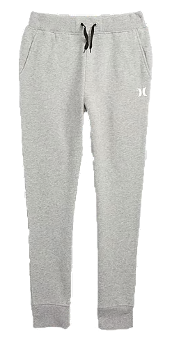 Hurley - FLEECE PANT (HEATHER DARK GREY)   Youth Size L-XL