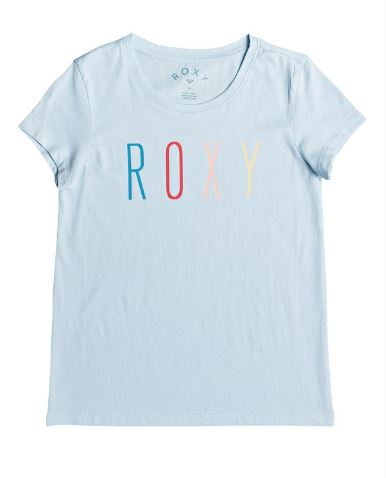 Roxy - DREAM ANOTHER DREAM TEE (BLUE LIGHT) - Youth Size 8-14