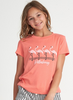 Billabong - FLAMINGOS IN PINK TEE (Sun Kissed Coral) Sizes XXS-L