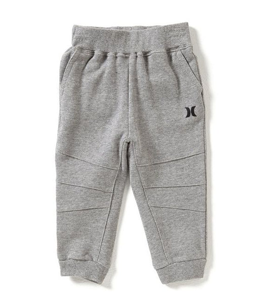 Hurley - VARSITY FRENCH TERRY DK GREY PANTS Size 4T