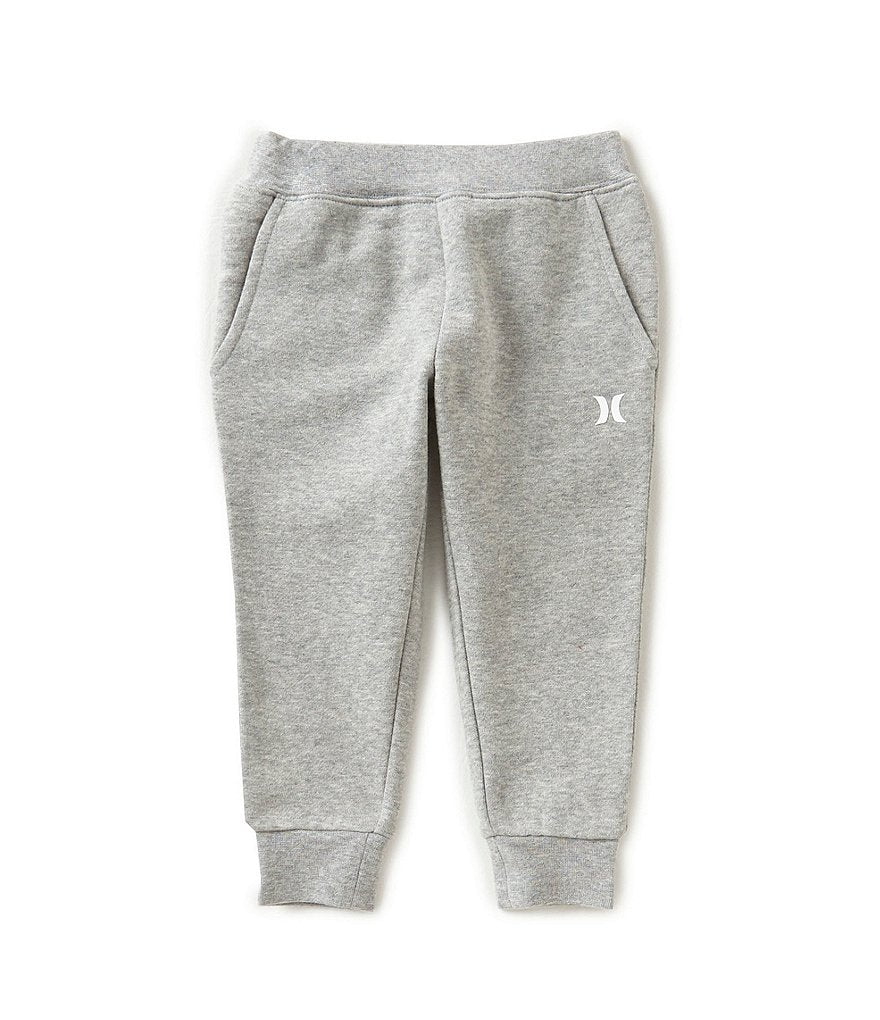 Hurley - FLEECE GREY HEATHER PANT - TODDLER SIZES 2T-4T