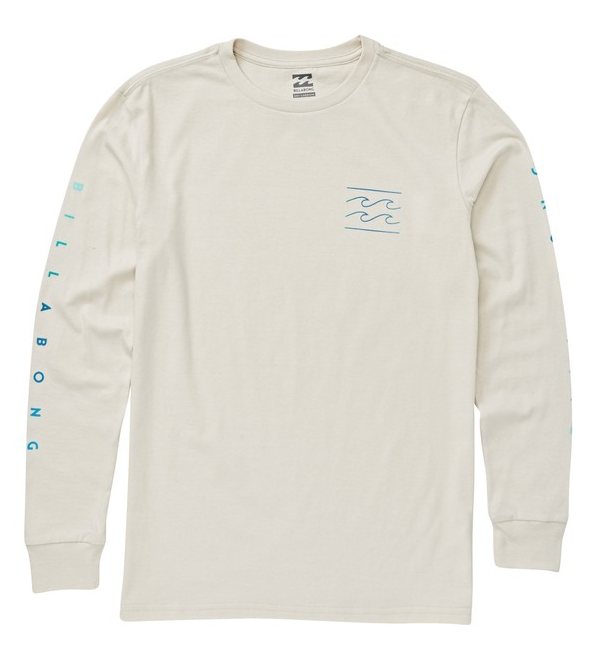 Billabong - UNITY LONG SLEEVE TEE (ROCK) Size 2-6