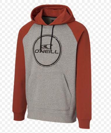 O'Neill - TEAM HOODIE (RED/GREY) - Youth Sizes S-XL