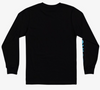 Quiksilver - FINAL COMP LONG SLEEVE TEE (BLACK) Size S-L