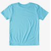 Quiksilver - COMP LOGO T-SHIRT (PACIFIC BLUE) - Sizes S-L