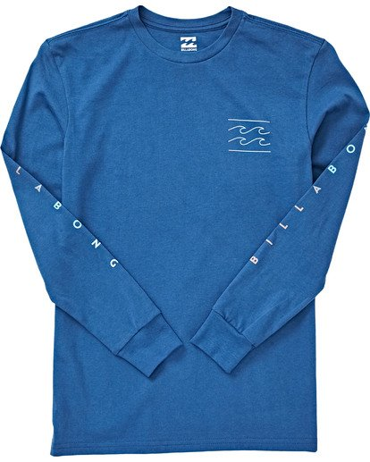 Billabong - UNITY LONG SLEEVE TEE (ROYAL) - Youth Size S-XL
