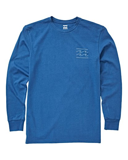 Billabong - UNITY LONG SLEEVE TEE (ROYAL) Size 2-7
