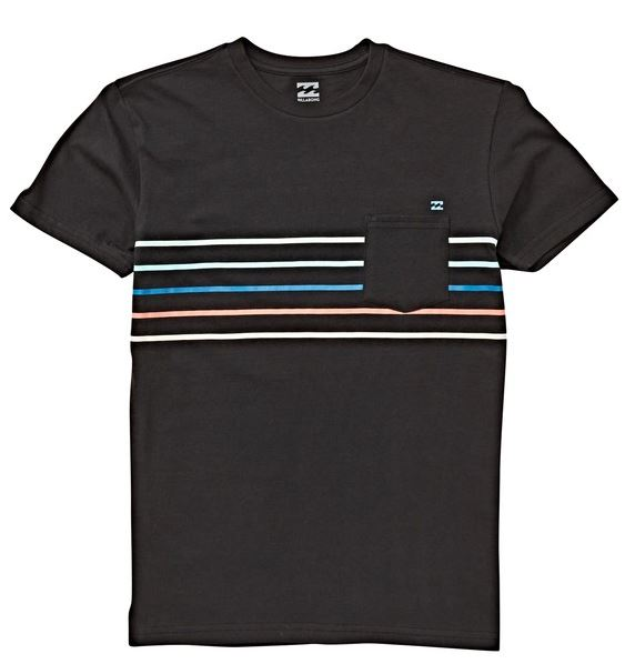 Billabong - SPINNER TEE (BLACK) - Youth Size M